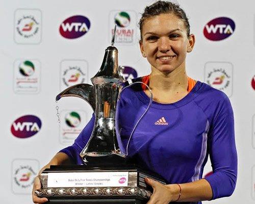 Simona Halep confirmed winner at Dubai Tennis Championship