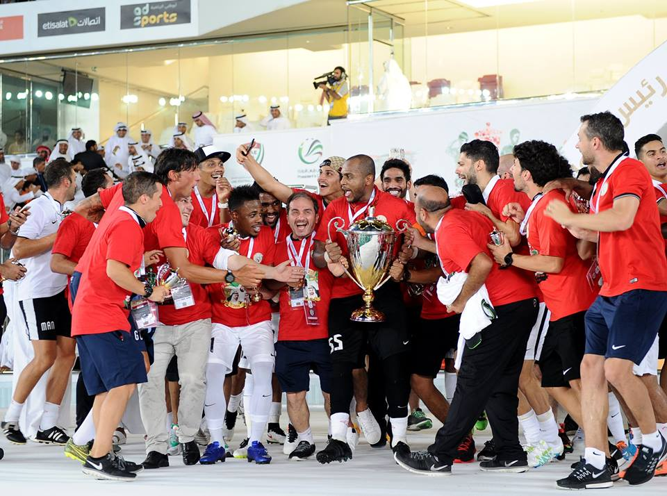 Al Jazira Sports Club wins the President's Cup