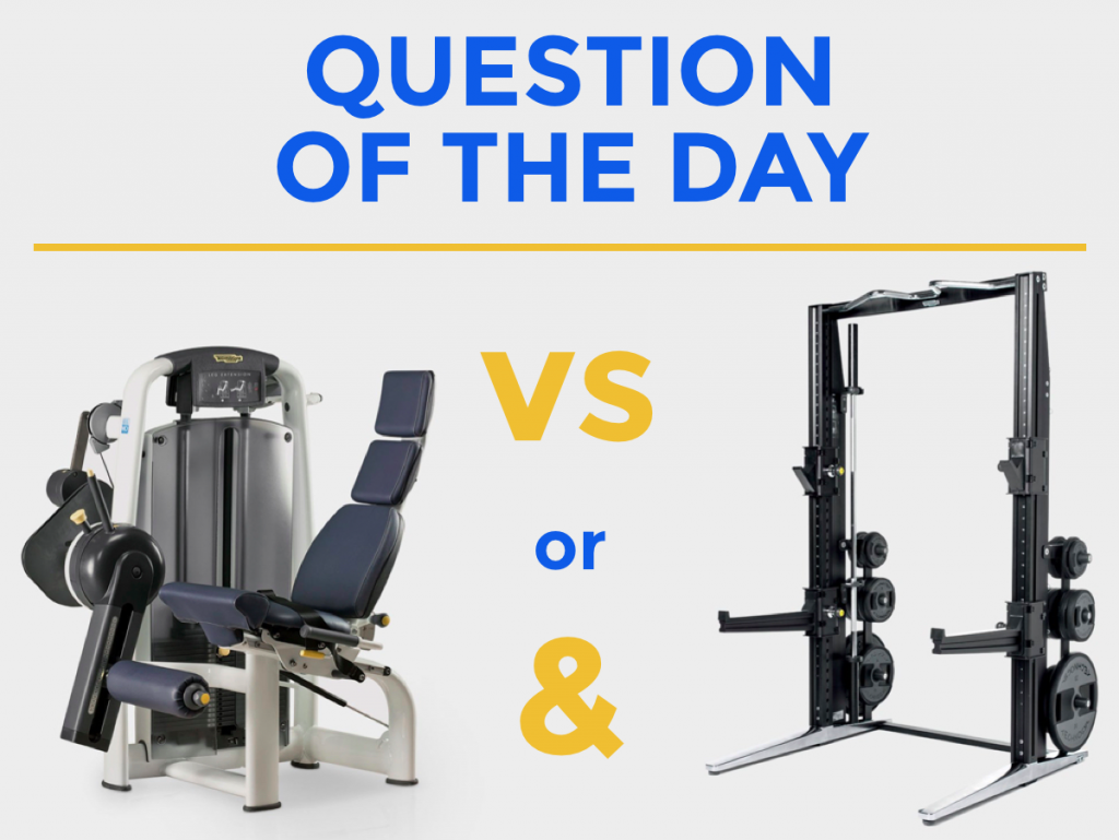 It's the question of the day at Football Medicine!