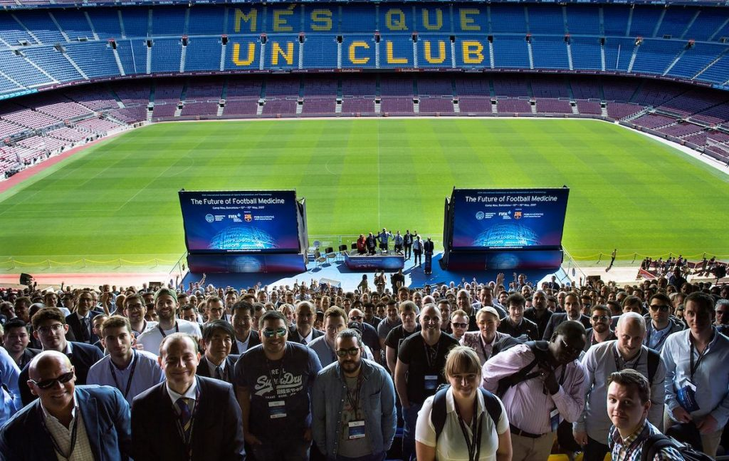 Photo of the 2017 edition, also attended in Camp Nou